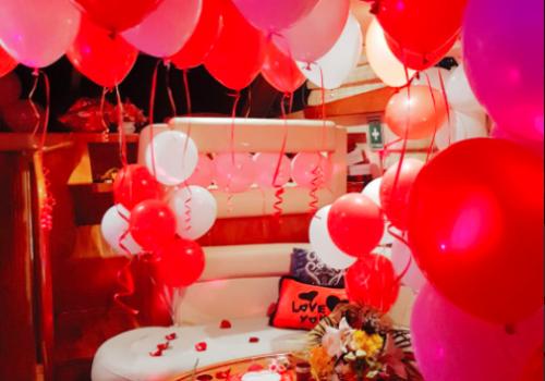 Birthday Party on Yacht in Dubai