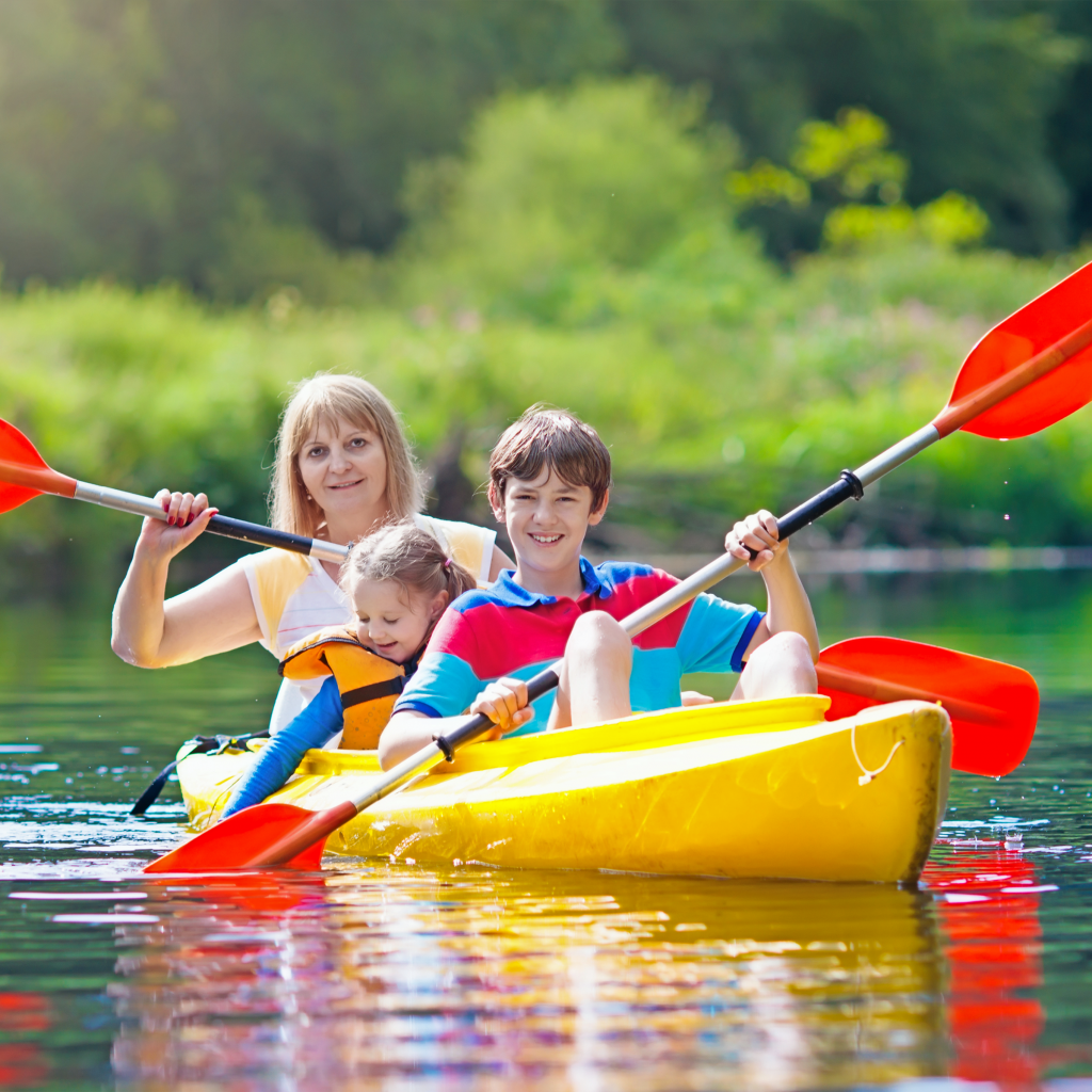 kayak, kayaking