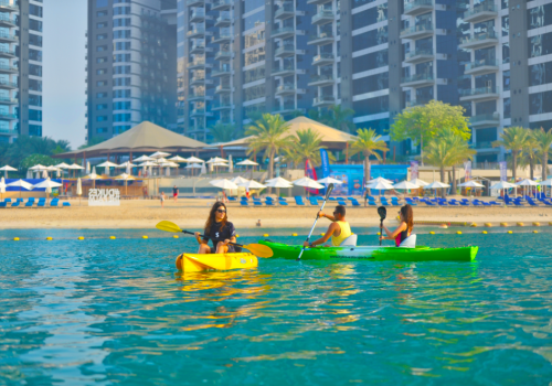 Double Kayaking | Dukes the Palm