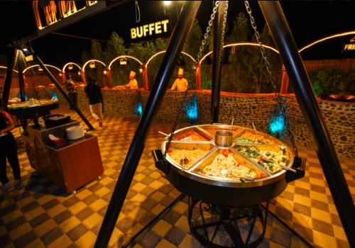 Evening Desert Safari with BBQ Dinner