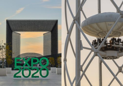 Flying Cup Attraction with Expo 2020 Day Pass